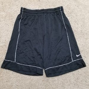NikeFit Black Basketball Shorts